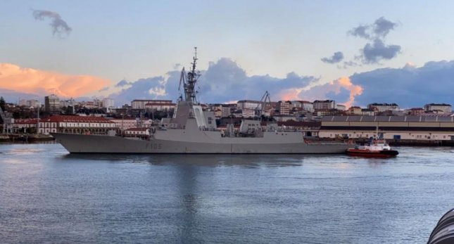 The frigate ESPS Cristobal Colon of the Spanish Navy will be the flagship of NATO's Formidable Shield 2021 exercise, beginning on May 15. Photo courtesy of Spain Ministry of Defense