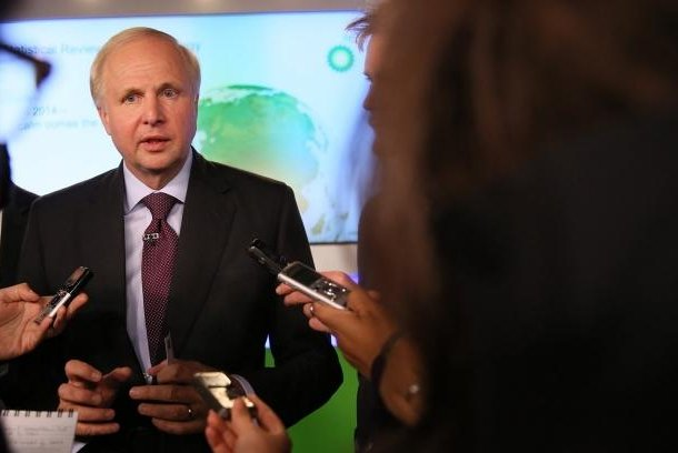 BP CEO Bob Dudley said companies need to adapt to a new environment for oil prices, which, while rallying, are still half what they were three years ago. Photo courtesy of BP.