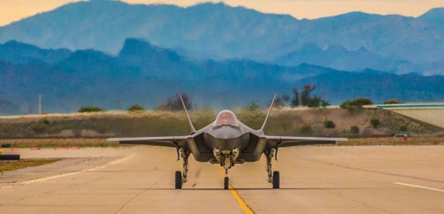 The test fleet of F-35 fighter planes at Edwards Air Force Base, Calif., has a very low readiness rate, a report last week by the Project on Government Oversight said. Photo by Senior Airman Caleb Worpel/U.S. Air Force/UPI