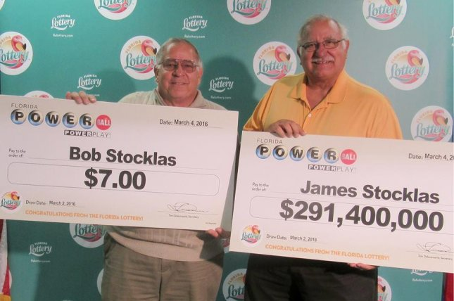 James Stocklas was the lone winner of Florida's recent Powerball drawing. His brother's ticket was also a winner -- but a much smaller one. Photo by Florida Lottery/Facebook