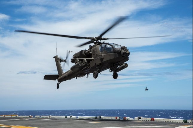 Qatar will receive 24 AH-64E Apache helicopters under a $667 million U.S. Army contract awarded to Boeing. U.S. Army photo by Chief Warrant Officer 3 Mark Leung