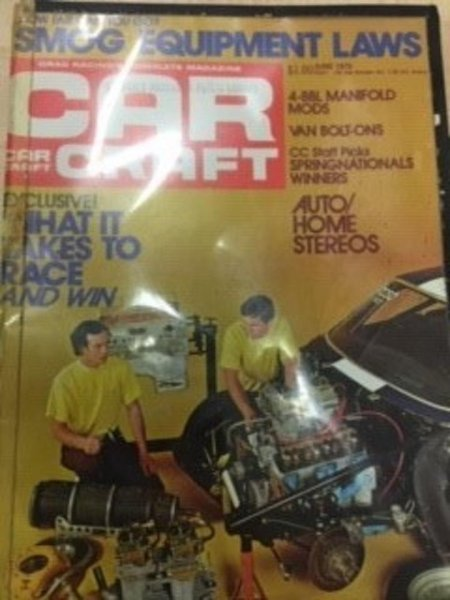 The St. James-Assiniboia Library, a branch of the Winnipeg Public Library in Manitoba, said an issue of Car Craft magazine returned this week was 45 years past its due date. Photo courtesy of the Winnipeg Public Library