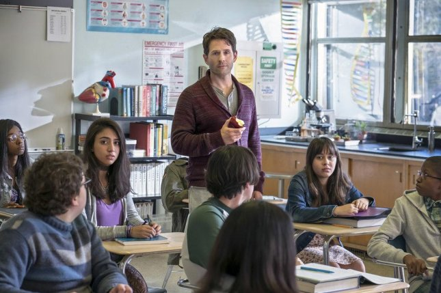 Glenn Howerton in a scene from the pilot for A.P. Bio. Photo by Ron Batzdorff, courtesy of NBC