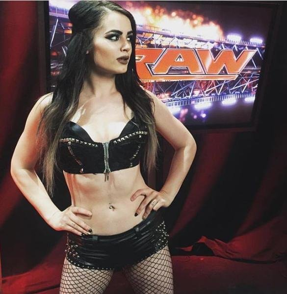 WWE Superstar Paige will be unable to compete at the Royal Rumble due to an injury. Photo courtesy of WWE/Instagram