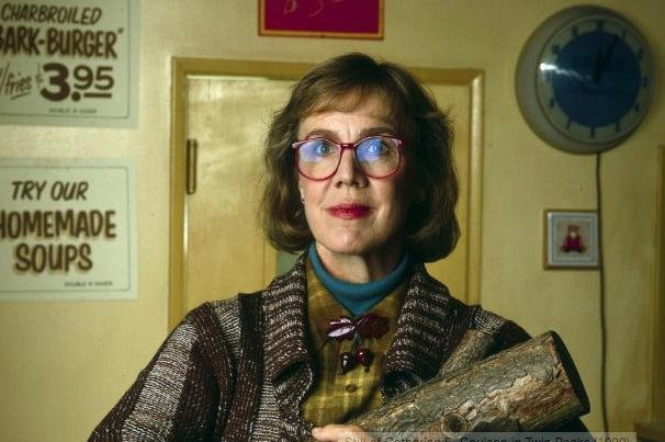 Actress Catherine Coulson famous for her role as Log Lady on supernatural television series 'Twin Peaks' died from cancer Monday. She was 71. Photo courtesy of IMDB.