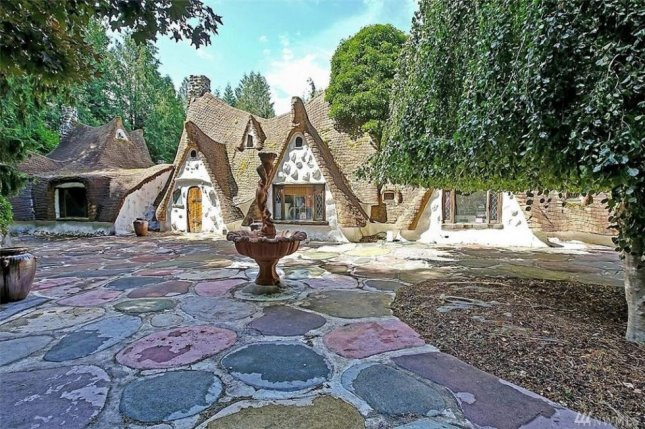 A 2,800-square-foot home modeled after the cabin from Disney's Snow White and the Seven Dwarves is for sale in Washington.  Photo courtesy Top Ten Real Estate Deals