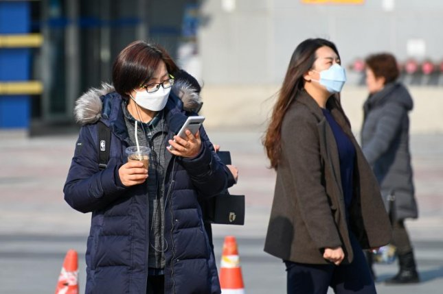 South Korea declared war on the coronavirus on Tuesday, as total cases in the country soared to over 4,800. Photo by Thomas Maresca/UPI
