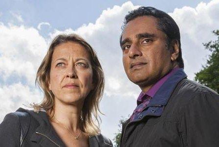 Nicola Walker and Sanjeev Bhaskar are returning for a fourth season of the British police drama Unforgotten. Photo courtesy of ITV