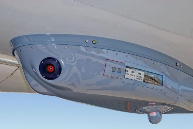The Navy's Large Aircraft Countermeasures system, seen here on a KC-130, will be integrated onto other aircraft of the Navy, Army and militaries of Britain and Norway. Photo courtesy of Northrup Grumman