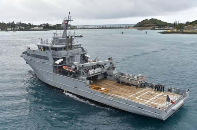 A French Navy B2M patrol and logistics ship. French navy photo