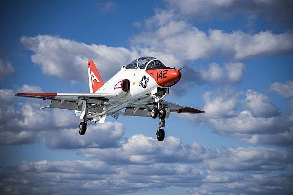 The U.S. Navy's T-45C Goshawk training aircraft are resuming flights following a temporary grounding. U.S. Navy photo by Mass Communication Specialist 3rd Class Nathan T. Beard.