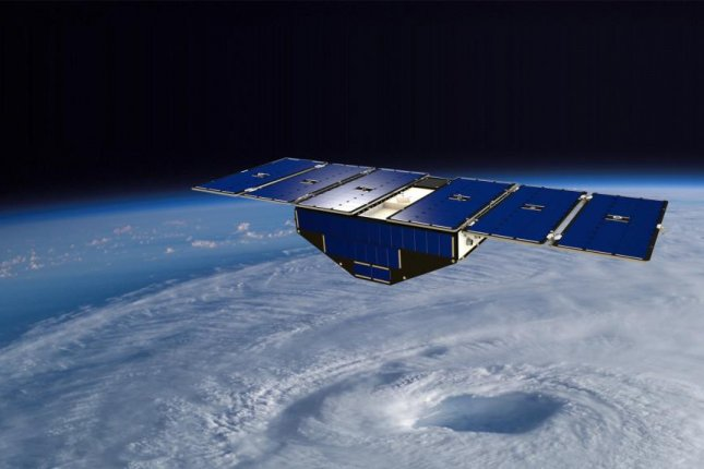 A constellation of eight small satellites, set to launch in December, will help scientists better model the path and intensity of hurricanes. Photo by JPL/NASA