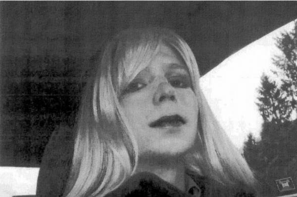 Chelsea Manning, here in a 2008 self-portrait, asked President Barack Obama for a commutation of her 35-year prison sentence for espionage. Photo courtesy the U.S. Army
