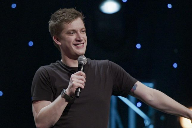 Scottish comedian Daniel Sloss said part of his aim in taking on difficult subjects in his comedy is to make audiences laugh and think. Photo courtesy of HBO