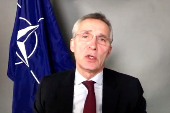 NATO secretary general Jens Stoltenberg expressed support for peace talks in Afghanistan and called for a revitalization of the relationship between North America and Europe. Screenshot via NATO News/YouTube