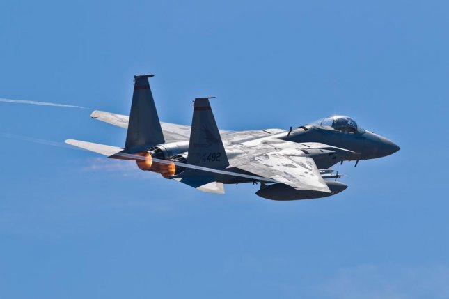 An airstrike carried out by a U.S. military McDonnell Douglas F-15 Eagle (pictured) killed the leader of the Islamic State in Libya, Abu Nabil, on Nov. 13, the Pentagon confirmed Monday. The military also confirmed the death of another senior terrorist leader on Dec. 2. Photo by Anatoliy Lukich/Shutterstock