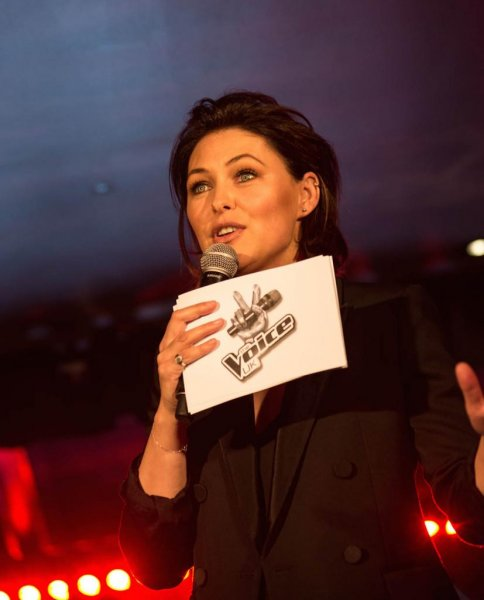 Television personality Emma Willis will continue to host The Voice U.K. after it moves to ITV next year. Photo courtesy of ITV