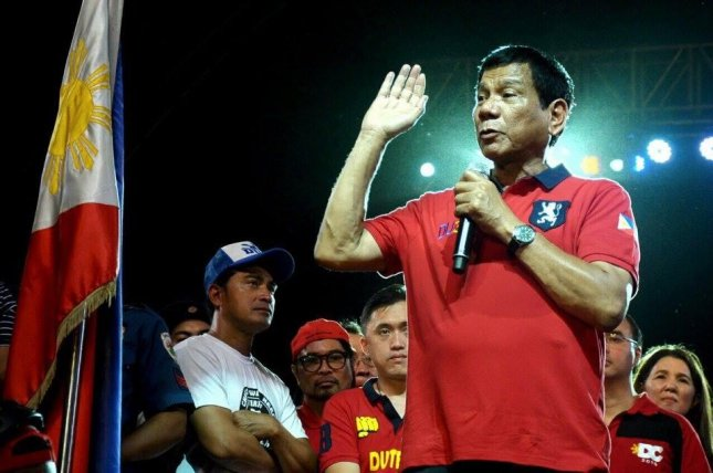 Rodrigo Duterte, the president-elect in the Philippines, would be the first Philippine president to hold talks with a terrorist organization if he conducts negotiations with Abu Sayyaf militant Islamist group, which is allied to the Islamic State. Duterte will be sworn in as president on Thursday. Photo courtesy Rodrigo Duterte