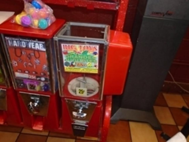 Vending machine yields toy ball full of cocaine
