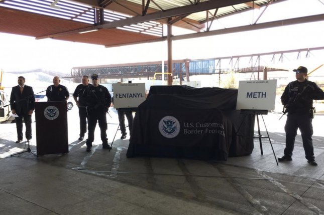 'Record' fentanyl drug bust made at US-Mexico border