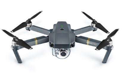 The Mavic Pro can fold into the size of a water bottle and will sell for $1,000. Photo by DJI Technology Co.