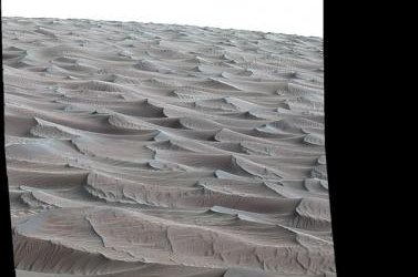 An image of Mars' High Dune taken by Curiosity. Photo by NASA/JPL