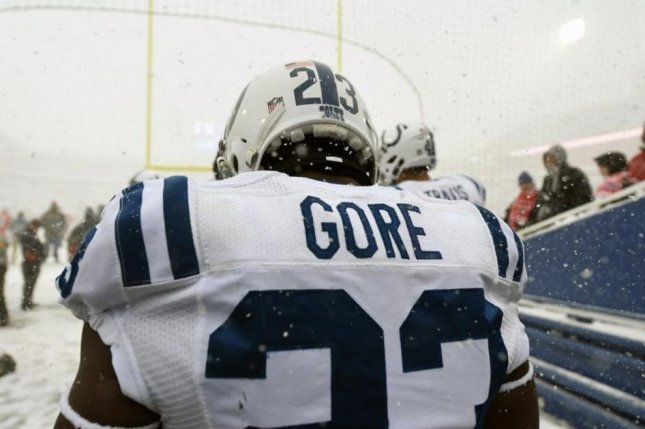Former Indianapolis Colts running back Frank Gore is expected to visit with the Detroit Lions on Wednesday. Photo courtesy of the Indianapolis Colts.