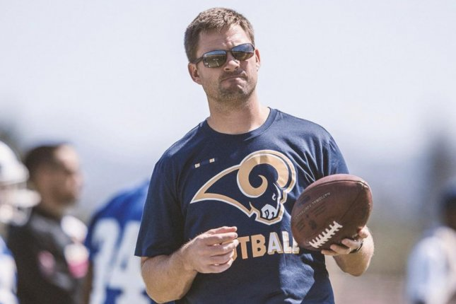 The Cincinnati Bengals will introduce new head coach Zac Taylor during a news conference on Tuesday at Paul Brown Stadium in Cincinnati. Photo courtesy of the Los Angeles Rams/Twitter