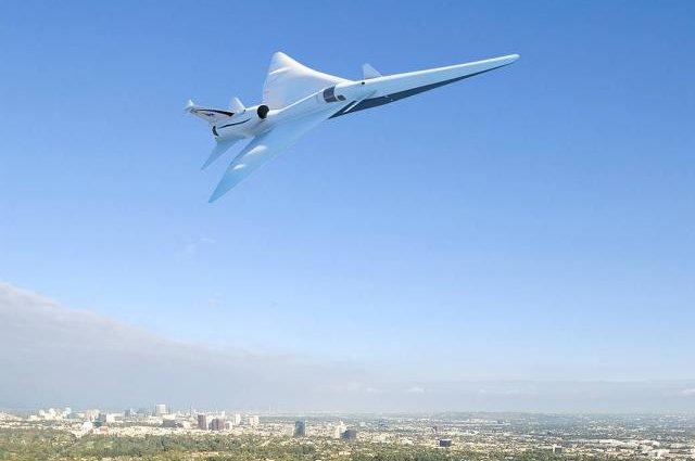 NASA orders a supersonic X-Plane, easy on the boom