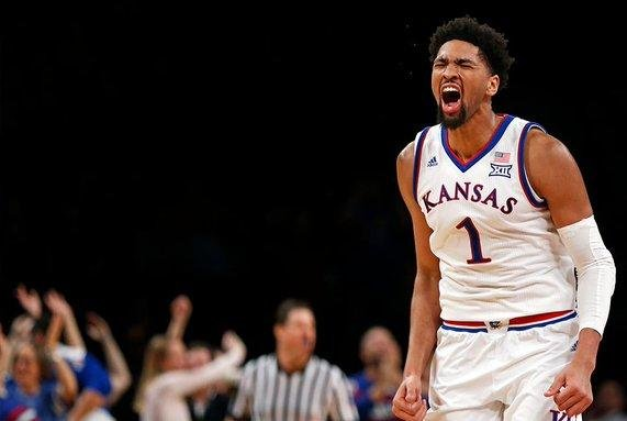 Kansas forward Dedric Lawson is coming off a big season for the Jayhawks and Monday declared for the NBA draft. Photo by Twitter/KSUBasketball