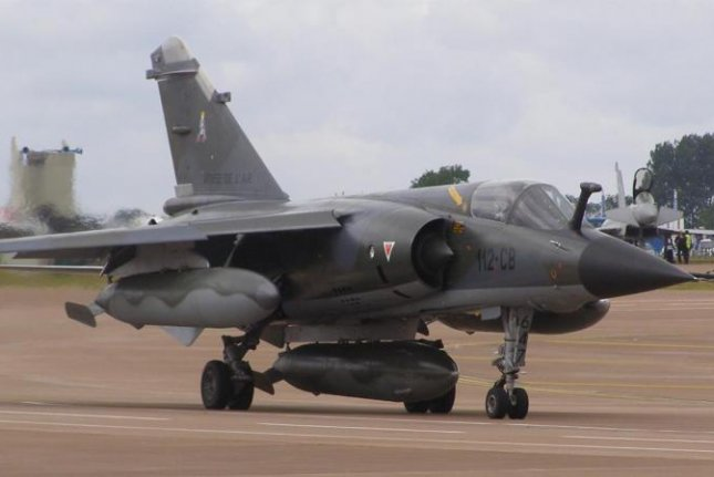 The Dassault Mirage F-1C fighter, which Argentina is negotiating to purchase, French air force photo