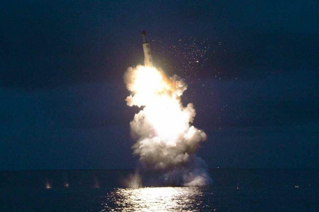 South Korea said Monday Pyongyang is ramping up SLBM development, less than a week after North Korea fired a SLBM last week. File Photo by Rodong Sinmun