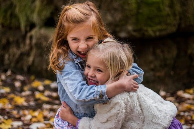 A Michigan State University study finds that preschoolers who spend time together start to act like one another. Photo courtesy of Michigan State University.