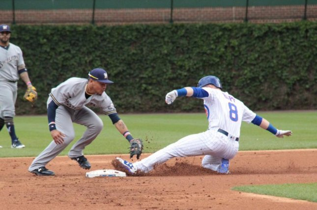 The Cubs cruised to a 13-6 victory over the Brewers on Sunday. Photo courtesy Chicago Cubs/Twitter