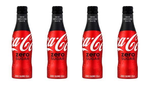 Coca-Cola will introduce its new Coca-Cola Zero Sugar product in August, the company said. Image courtesy of Coca-Cola