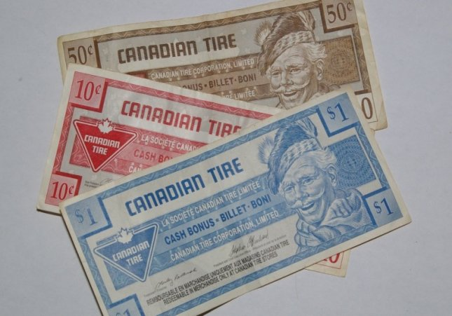 Canadian Tire reins in use of its 'money' - UPI com