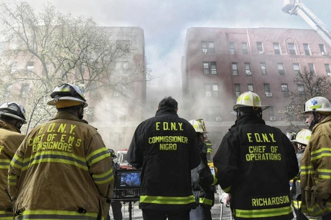 Hundreds of emergency personnel were deployed to fight the fire in Queens, New York City, on Tuesday. Photo courtesy of New York City Fire Department/Facebook