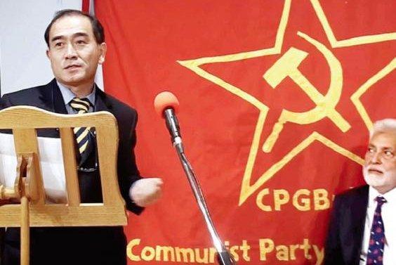Thae Yong-ho, the senior North Korea diplomat who defected in 2016, says Pyongyang has been filing false insurance claims to make profits, according to Yonhap. File Photo screenshot courtesy of Proletarian TV/YouTube