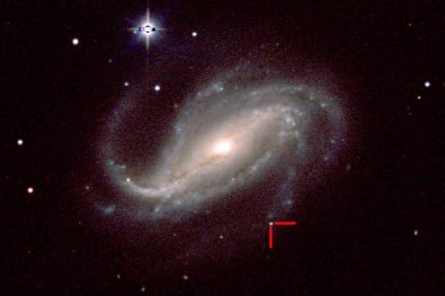 Víctor Buso's home telescope captured birth of a supernova