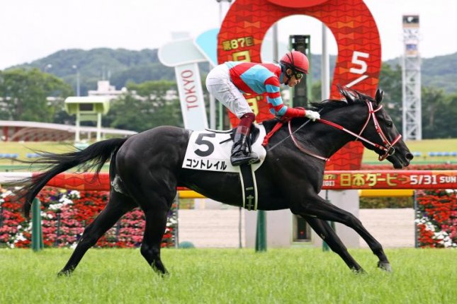 Contrail wins Sunday's Japanese Derby, remaining undefeated after five starts, and now eyes the Triple Crown. Photo courtesy of Japan Racing Association