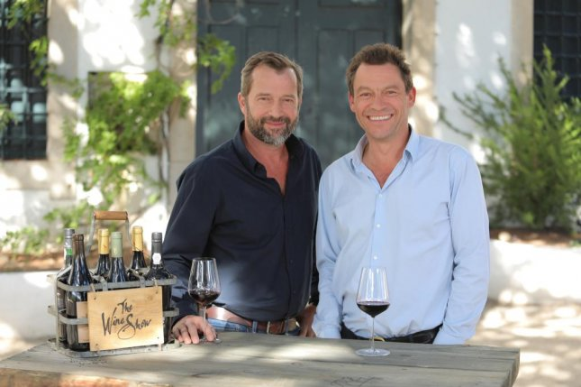 James Purefoy (L) and Dominic West can now be seen in Season 3 of The Wine Show. Photo courtesy of Sundance Now/Acorn TV