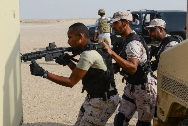 U S  Army partners with Kuwait Amiri Guard for training