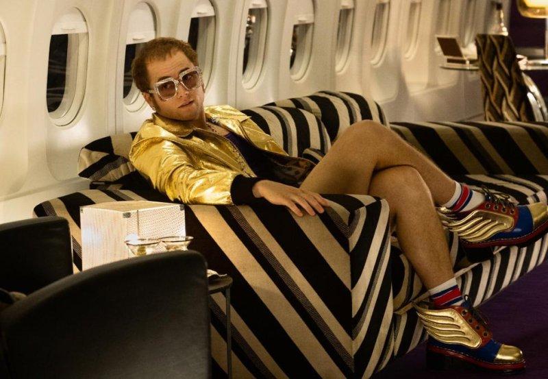 Taron Egerton will soon be seen as Elton John in Rocketman. Photo courtesy of Paramount Pictures