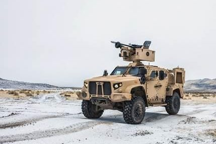 Oshkosh Defense signed two deals totaling $911 million this week to deliver JLTVs to the U.S. and allies. Photo courtesy of Oshkosh Defense