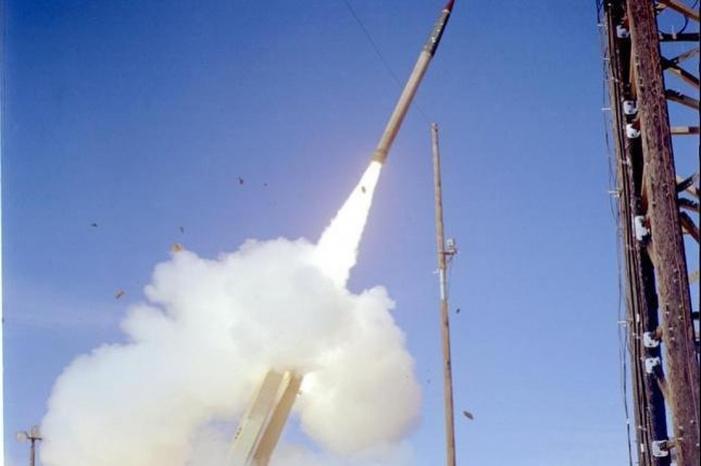 Deployment of the U.S. missile defense system THAAD, or Terminal High Altitude Area Defense system, is under review in Washington, according to South Korea's Defense Minister Han Min-koo. Photo courtesy of U.S. Department of Defense