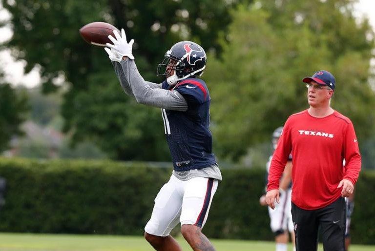 Texans release WR Jaelen Strong