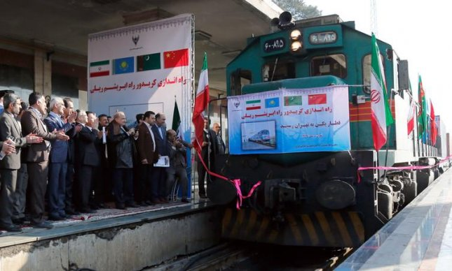 China launched its freight service to Iran in 2016. Photo by European Pressphoto Agency