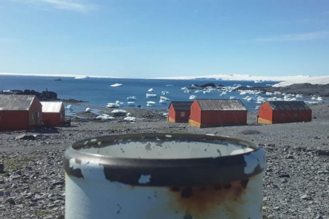 The Argentina National Meteorological Service of the Esperanza base, located in Antarctica, recorded a temperature of 65 degrees this week. Photo courtesy of National Meteorological Service Argentina
