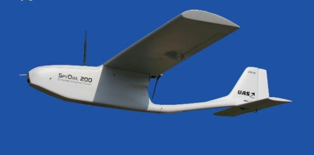 While European defense contractors build unmanned aerial vehicles such as the UAS Spy Owl 200, depicted, France called for a request for proposals to build a UAV with radio transmitter detection and intercept capabilities. Photo courtesy of UAS