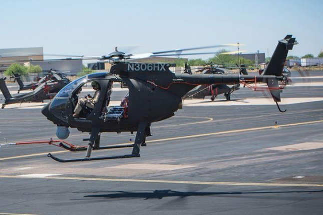 Boeing has been contracted to upgrade 23 AH-6i helicopters for the Royal Saudi Air Force. Photo courtesy of Boeing Co.